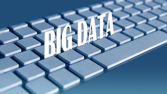パソコンの巨大データ